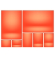 Gradient background set vector image