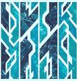 Ice geometric seamless pattern