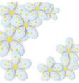 paper flower background vector image