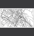 prato italy city map in retro style outline map vector image