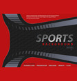 red-black background in sport design style vector image vector image
