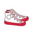 shoes for a teenager isolated mockup vector image