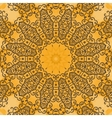 Yoga Ornament kaleidoscopic floral mandala vector image