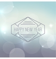 Abstract blurred background with sparkle vector image