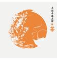 china sun vector image vector image