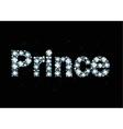 Diamond Word Prince vector image vector image