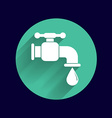 faucet icon button logo symbol concept vector image vector image