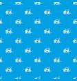 forklift pattern seamless blue vector image vector image