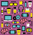Graphic designer seamless pattern vector image vector image
