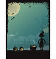 Halloween poster 01 vector image