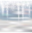 light silver and white christmas background vector image
