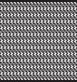 monochrome openwork pattern vector image