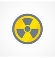 Radiation icon sign vector image