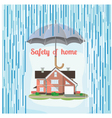 safety home vector image vector image