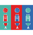 basketball desing vector image