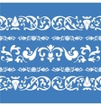 folklore ornament pattern vector image vector image