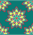 seamless pattern with mandala vector image
