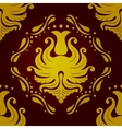 Seamless retro vintage victorial baroque wallpaper vector image