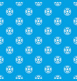 slice of ripe tomato pattern seamless blue vector image