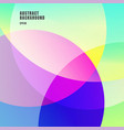 abstract colorful gradients color overlapping vector image vector image
