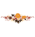 Autumn decoration vector image vector image