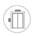 elevator icon vector image