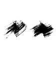 Grunge brushes texture set vector image vector image