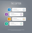 icon work set of hierarchy structure corporate vector image vector image