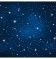 Star Sky Background vector image vector image