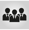 The management icon Team and group teamwork vector image vector image