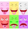 tongue receive flavor vector image vector image