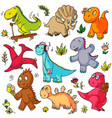toys doodles funny children object sketches vector image vector image