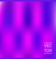 ultra violet holographic fashion cover vector image vector image