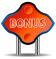 Unique bonus icon vector image