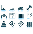 Set of construction icon vector image