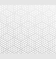 abstract geometric silver mesh grid pattern vector image