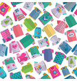 baclothes seamless pattern vector image vector image