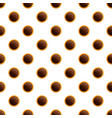 chocolate bakery biscuit pattern seamless vector image vector image