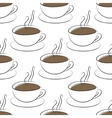 coffee cup seamless vector image