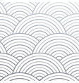 geometric silver circle lines pattern with vector image