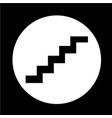staircase icon vector image