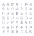 49 mark icons vector image vector image