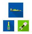 car and rally icon vector image vector image