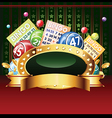 casino vector image vector image