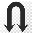 Double Back Arrow Icon