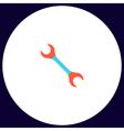 spanner computer symbol vector image vector image