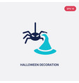 two color halloween decoration icon from vector image vector image