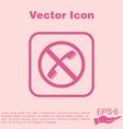 forbidden to use phone forbidding symbol vector image