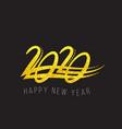 2020 happy new year text