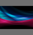 abstract blue purple liquid glossy waves vector image vector image